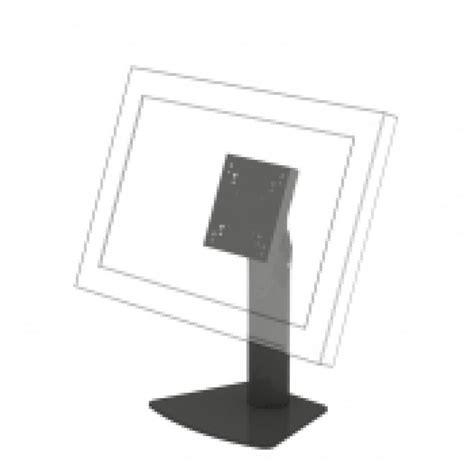small vesa desk top stand for monitors screens tvs
