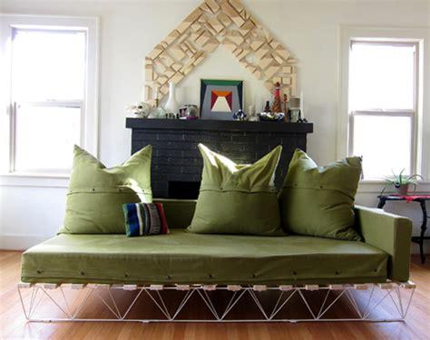 diy platform couch diy project genevieve s platform sofa design sponge