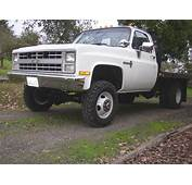 My 1988 Chevy Dually Flatbed 4x4  This Is Work Horse