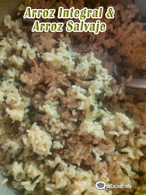 cocinar arroz salvaje arroz integral y arroz salvaje como cocinar arroz negro
