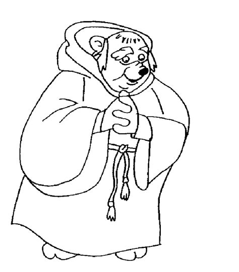 robin printable coloring page disney robin hood coloring pages coloring home