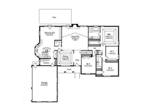 daylight basement home plans side slope plan with daylight basement house plans i