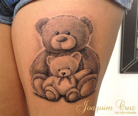 small bear tattoo teddy tattoos search things i