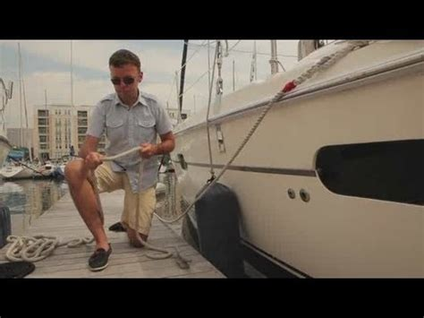 boat knots youtube how to tie a cleat hitch boating youtube