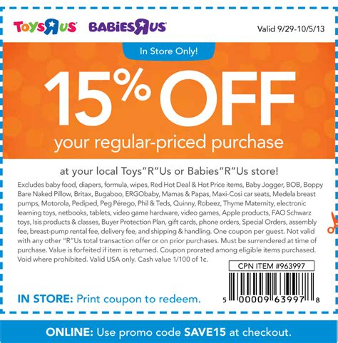 Promo Codes For Barnes And Noble Save Money With Toys R Us Coupons Printable Coupons Online