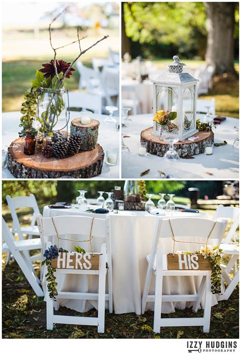 fall rustic diy backyard wedding athens wedding