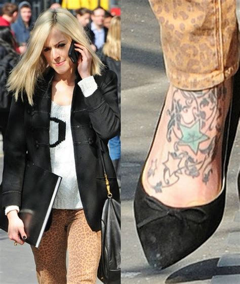 fearne cotton wrist tattoo fearne cotton s tattoos on foot pretty designs