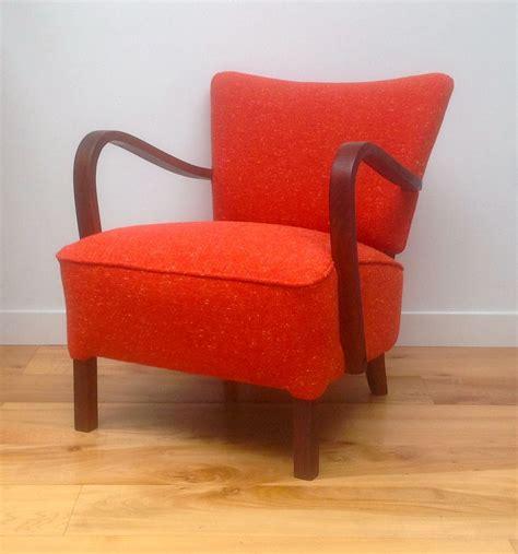 vintage armchair uk vintage 1930s deco armchair orange tweed maud