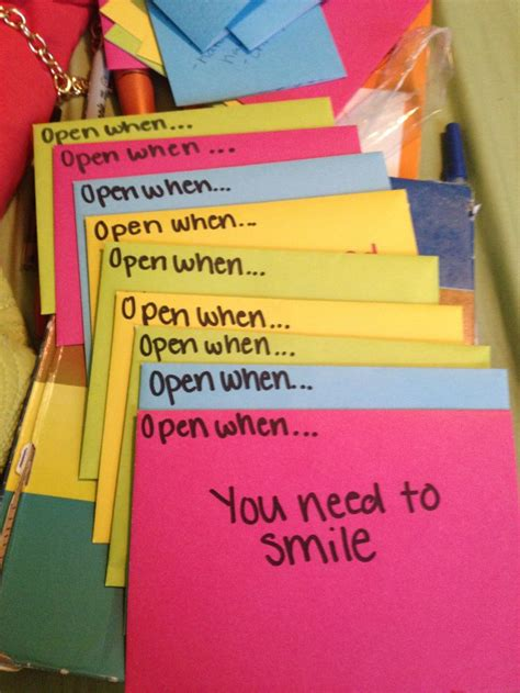 up letter to a loved one quot open when quot letters to a loved one ideas