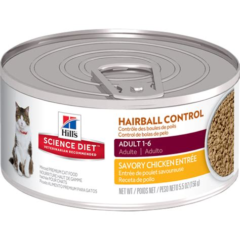 science diet canned food hill s 174 science diet 174 urinary hairball cat food canned