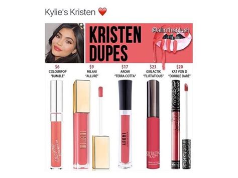 Lip Kit Kristen 100 Original Ori the 25 best kristen lip kit ideas on dupes lipkit colors and