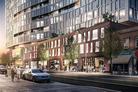 Two Story House Plan by Updated Design For Evanston Apartment High Rise Revealed In Latest Renderings Curbed Chicago