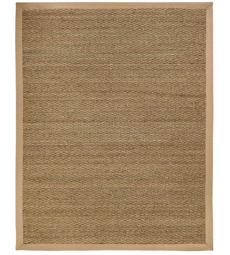 sabertooth seagrass area rug in solid rugs