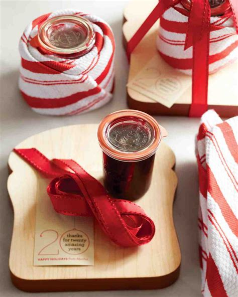 christmas hostess gifts raspberry jam gifts recipe martha stewart