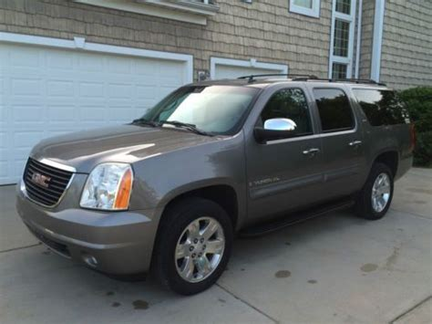 download car manuals 2007 gmc yukon xl 1500 navigation system buy used 2007 gmc yukon xl 1500 slt sport utility 4wd w chrome package in stevensville