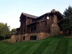 selecting log home stain and finish edmunds and company