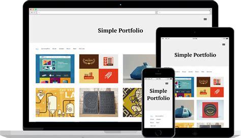 theme wordpress free responsive portfolio simple portfolio free wp themes wp templates
