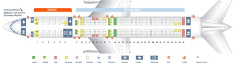 american airlines 763 seating seat map boeing 757 200 american airlines best seats in