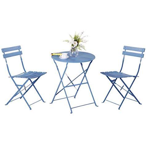 Yessa Set grand patio set tavolo e sedie pieghevoli in vimini per