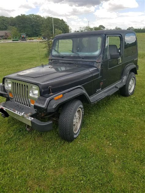 jeep wrangler grey gray 1988 jeep wrangler for sale