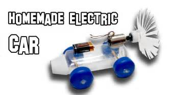 Electric Motor Car Physics Project Electric Car Diy Experiment