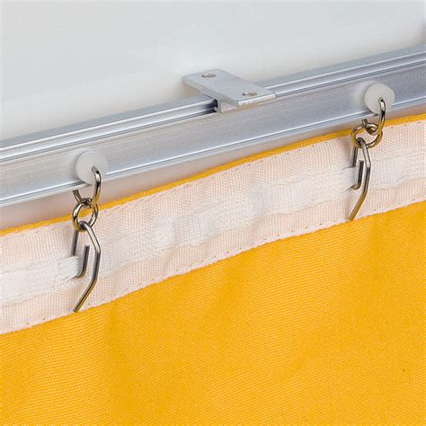 marine curtain track recmar 4108 bendable i beam curtain track aluminum 72