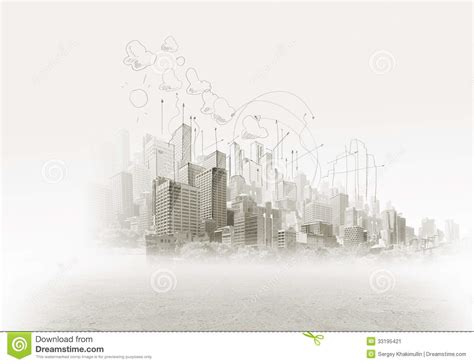 pencil drawings buildings building sketch stock photos construction sketch stock image image of architectural