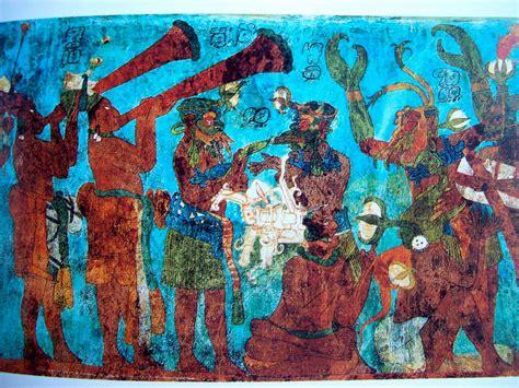 imagenes de murales mayas literatura y mundo maya curso los murales mesoamericanos