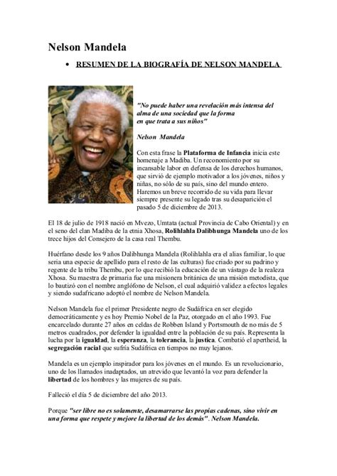 nelson mandela biography in simple english nelson mandela