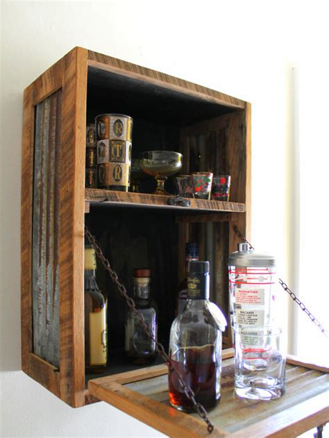 wall mounted liquor cabinet interesting ideas for home