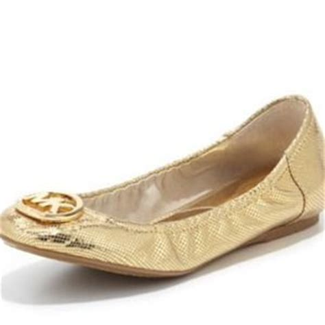 Authentic Michael Kors Flat Shoes Size 37 46 michael kors shoes authentic michael kors gold sequin flats from l s closet on