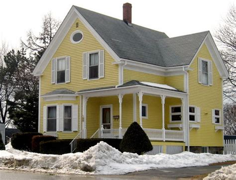 exterior house color combinations yellow exterior color schemes casual cottage