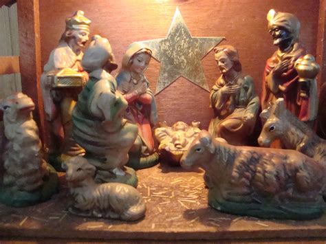 my new nativity set collectors weekly