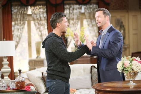 days of our lives eric martsolf and arianne zucker at day days of our lives spoilers eric confronts brady about