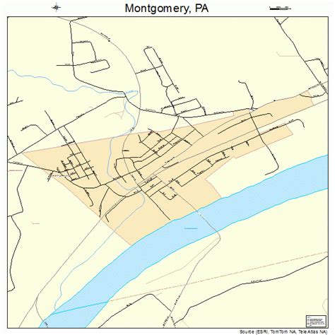 Montgomery County Pa Search Montgomery Pennsylvania Map 4250632