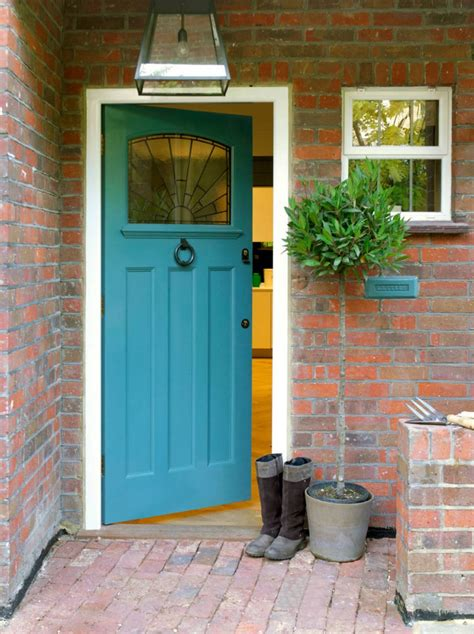 bright blue front door paint the front door 10 helpful tips