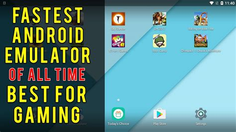 fastest android fastest android emulator for gaming 2017 best of all