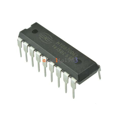 2pcs mt8870 cmos low power dtmf decoder receiver ic new