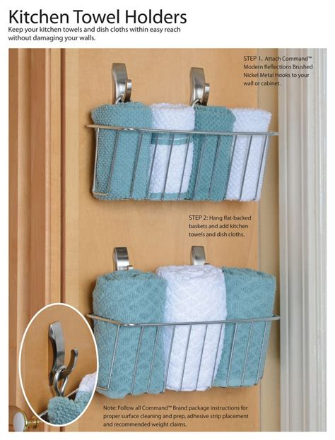 kitchen towel holder ideas 269 best command hooks ideas images on pinterest