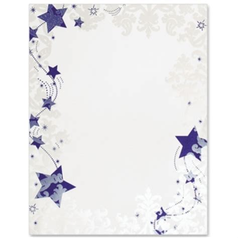 Tropical Themes For Parties - winter stationery winter paperframes border papers frosted stars paperframes border papers