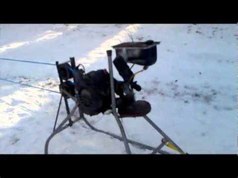 backyard ski lift ski lift 1 0 rope tow homemade youtube
