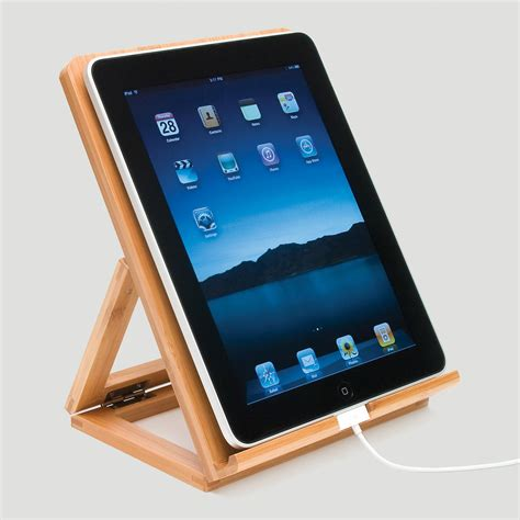 Ipad Easel | bamboo ipad stand world market