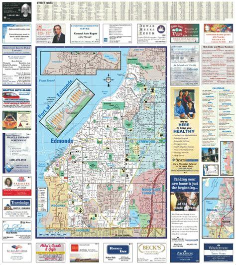 zip code map edmonds wa map of edmonds washington washington dc map