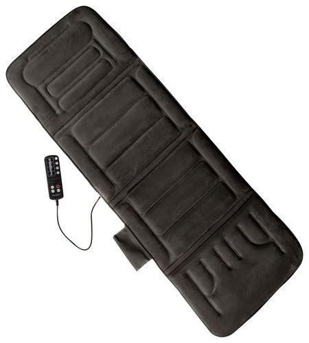 comfort supply inc comfort products inc heated massage mat gray 60 2907p04