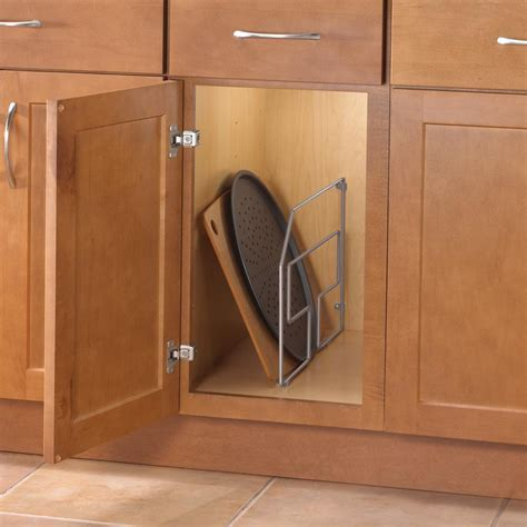 real solutions kitchen organizers pot and pan cabinet organizer home depot cabinets design