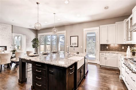 luxury transitional style home staging design  white