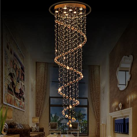 Kronleuchter Led Modern by Stairway Big Chandeliers Modern Staircase