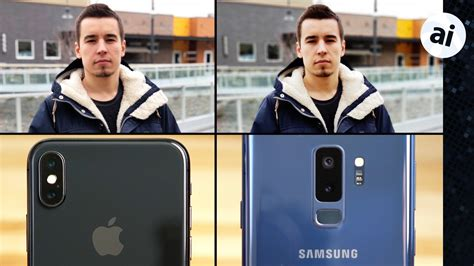 iphone   galaxy  cameras compared