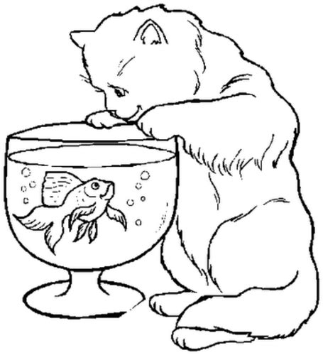 cat with kittens coloring page kitten coloring pages 3 coloring pages to print