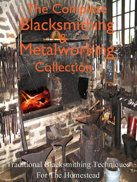 32 books on farm blacksmithing metalworking
